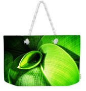 Green Paradise - Leaves By Sharon Cummings Weekender Tote Bag