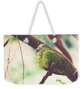 Green Pigeon Weekender Tote Bag