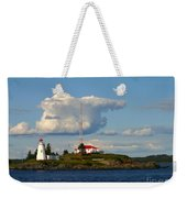 Green Point And Keepers Cottage Weekender Tote Bag