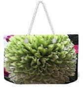 Green Pom Pom Weekender Tote Bag