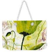 Green Poppy 003 Weekender Tote Bag