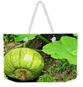 Green Pumpkin Weekender Tote Bag