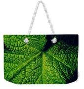 Green Ribbons Of Life Weekender Tote Bag