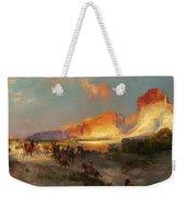 Green River Cliffs Wyoming Weekender Tote Bag