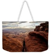 Green River View Weekender Tote Bag by Dustin  LeFevre