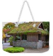 Green Roof Weekender Tote Bag