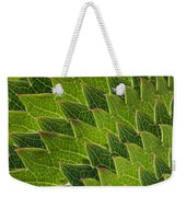 Green Scales Of A Dragon Weekender Tote Bag