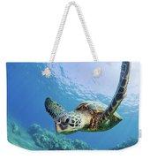Green Sea Turtle - Maui Weekender Tote Bag
