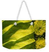 Green Silk 02 Weekender Tote Bag