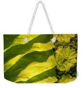 Green Silk 03 Weekender Tote Bag