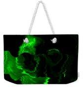 Green Skull Weekender Tote Bag