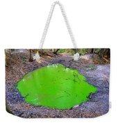 Green Spill Weekender Tote Bag