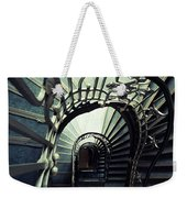 Green Spiral Staircase Weekender Tote Bag