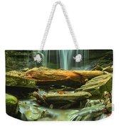 Green Spring Cascades Weekender Tote Bag