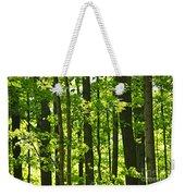 Green Spring Forest Weekender Tote Bag