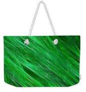 Green Streaming Weekender Tote Bag