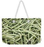 Green String Beans Display Weekender Tote Bag