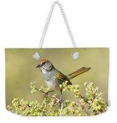 Green-tailed Towhee Weekender Tote Bag