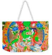 Green Tara 11 Weekender Tote Bag