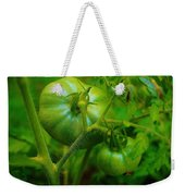 Green Tomatos Weekender Tote Bag