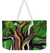Green Tree Weekender Tote Bag