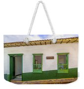 Green Trim Weekender Tote Bag