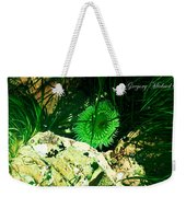 Green Urchin Weekender Tote Bag