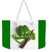 Green Veggie Munchie Weekender Tote Bag