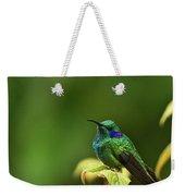 Green Violetear Hummingbird Weekender Tote Bag