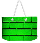 Green Wall Weekender Tote Bag