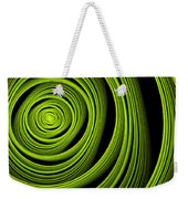 Green Wellness Weekender Tote Bag
