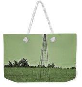 Green Windmill Weekender Tote Bag