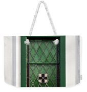 Green Window Weekender Tote Bag