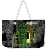 Green Window Weekender Tote Bag