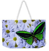 Green Wings In The Mums Weekender Tote Bag