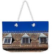 Green-wood Roof Weekender Tote Bag