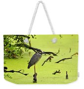 Green Yellow And Red Weekender Tote Bag