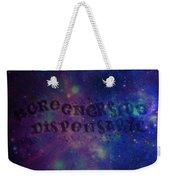 Greener Side Dispensary In Space Weekender Tote Bag