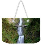 Greenery Of Multnomah Falls Weekender Tote Bag