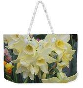 Greenhouse Daffodils Weekender Tote Bag