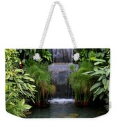 Greenhouse Garden Waterfall Weekender Tote Bag