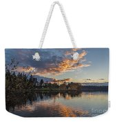 Greenlake Autumn Sunset Weekender Tote Bag