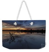 Greenlake Sunset With A Fallen Tree Weekender Tote Bag