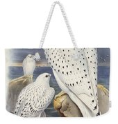 Greenland Falcon Weekender Tote Bag