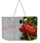 Greeting Of Love Weekender Tote Bag
