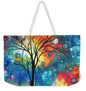 Greeting The Dawn By Madart Weekender Tote Bag