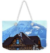 Greetings From Frutigen Weekender Tote Bag