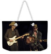 Greg Brown And Bo Ramsey In Concert Weekender Tote Bag