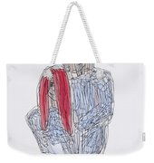 Greg Kristi Unfinished Weekender Tote Bag