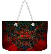Gremlin In Dynamic Color Weekender Tote Bag